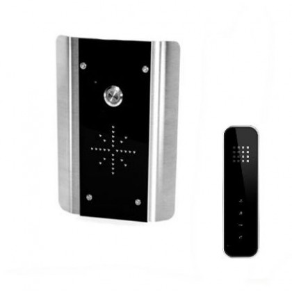 AES Slim HF-AB wired audio intercom kit with hands-free wireless handset