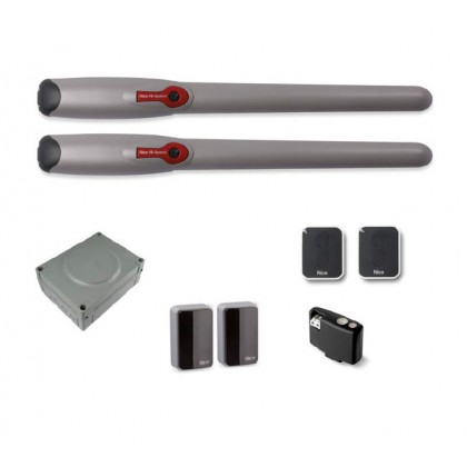 SPECIAL OFFER - Nice WINGO3524D-KIT 24Vdc high speed double kit for swing gates up to 3m